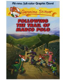 Shree Book Centre Geronimo Stilton Following The Trail of Marco Polo Graphic Novel - Language English