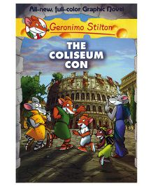 Shree Book Centre Geronimo Stilton The Coliseum Con Graphic Novel - Language English