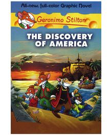 Shree Book Centre Geronimo Stilton The Discovery of America Graphic Novel - Language English