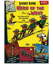 Shree Book Centre Lucky Luke Hero of the West 4 in 1 - English
