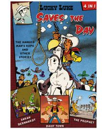 Shree Book Centre Lucky Luke Saves the Day 4 in 1 - English