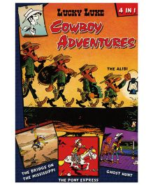 Shree Book Centre Lucky Luke Cowboy Adventures 4 in 1 - English