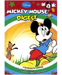 Shree Book Centre Mickey Mouse Digest - Language English