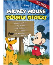 Shree Book Centre Mickey Mouse Double Digest - Language English