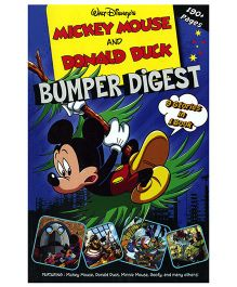 Shree Book Centre Mickey Mouse and Donald Duck Bumper Digest 9 In 1 - English