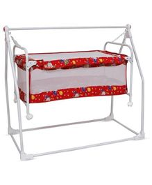 Bajaj Baby Cradle Cum Bassinet - Red