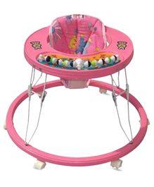 Bajaj Baby Walker Round Pink