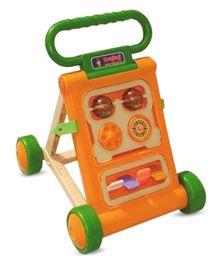 Bajaj Baby Activity Walker - Green And Orange
