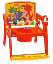 Bajaj Baby Potty Chair Orange And Yellow