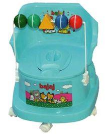 Bajaj Baby Potty Chair With Wheels Blue