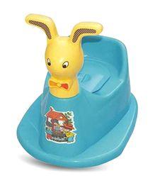 Bajaj Baby Rabbit Potty Chair Blue And Yellow