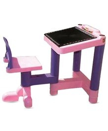 Bajaj Activity Desk Study Table - Pink And Purple