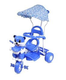 Bajaj Kitty Tricycle With Canopy - Blue