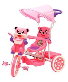 Bajaj Kitty Tricycle With Canopy Pink