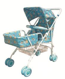 Bajaj Light Weight Stroller With Canopy Pink - 012