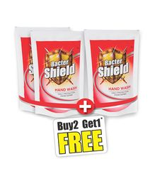 Bacter Shield Hand Wash Refill 185 ml - Pack Of 3