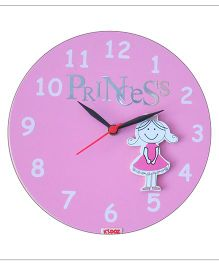 Kidoz Princess Wall Clock