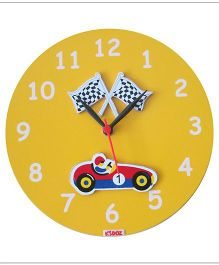 Kidoz Racer Wall Clock