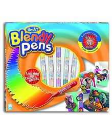 RenArt Blendy Pens 3D Creative Cards - Pack of 10