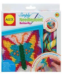 Alex Toys Simply Needlepoint Butterfly Kit