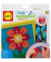 Alex Toys Simply Needlepoint Flower Kit