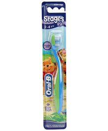 Oral-B Extra Soft Tooth Brush Stage 2 - Blue And Green