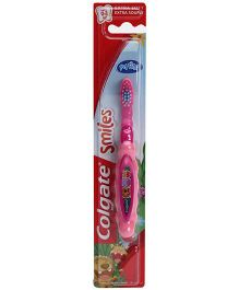 Colgate Smiles My First Extra Soft Tooth Brush Animal Print - Pink