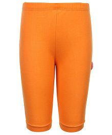Child World Plain Legging - Light Orange