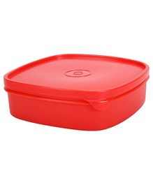 Pratap Lunch Box Square Shape - Red