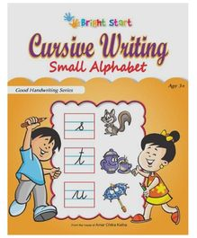Brightstart Cursive Writing Small Alphabet - English