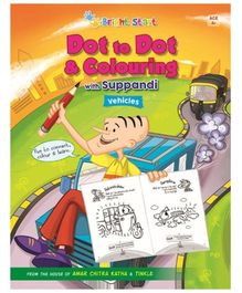 Brightstart Dot To Dot And Colouring With Suppandi