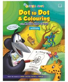 Brightstart Dot To Dot And Colouring With Kalia The Crow
