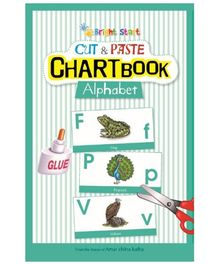 Brightstart Cut And Paste Chart Book - Alphabet