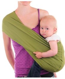 Nahshon Baby Side Carry Sling - Lime Green