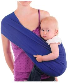 Nahshon Baby Side Carry Sling - Royal Blue