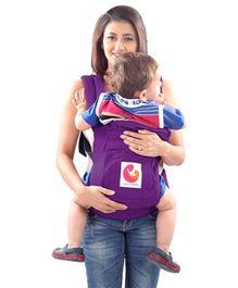Nahshon 3 Way Baby Carrier - Vivid Violet