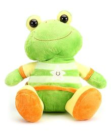 ABC Plush Animal Frog Green - 28 cm