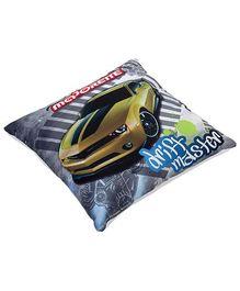 Majorette Square Shape Cushion - Drift Master Print