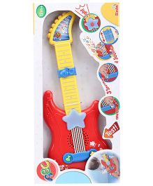 Simba Guitar With Light And Sound - Red And Yellow