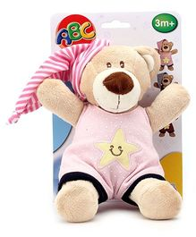 ABC Sleep Well Bear Soft Toy - Height 25 cm