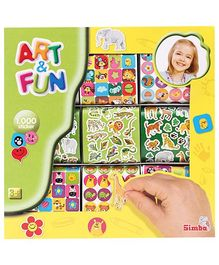 Art & Fun 1000 Stickers