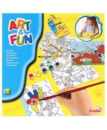 Art & Fun Paint By Colours Set