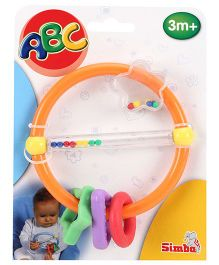 ABC Clown Rattle Teether