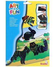 Simba Art And Fun Scratchart