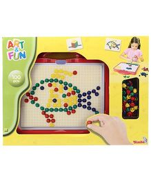 Art & Fun Mosaic Set In Case - 100 Pieces