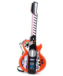 Simba My Music World I-Light Guitar - Orange And Black