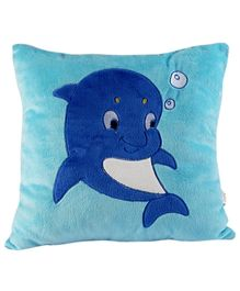 Soft Buddies Cushion Premium Playtoy Dolphin - Blue