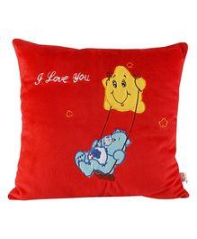 Soft Buddies Cushion Premium Playtoy Swing Bear - Red
