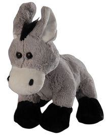 Soft Buddies Animal With Bell Donkey Grey - 22 cm