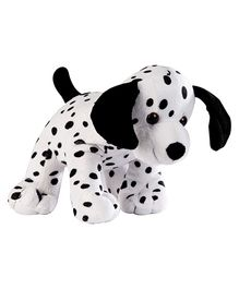 Soft Buddies Animal With Bell Dalmation Dog - White